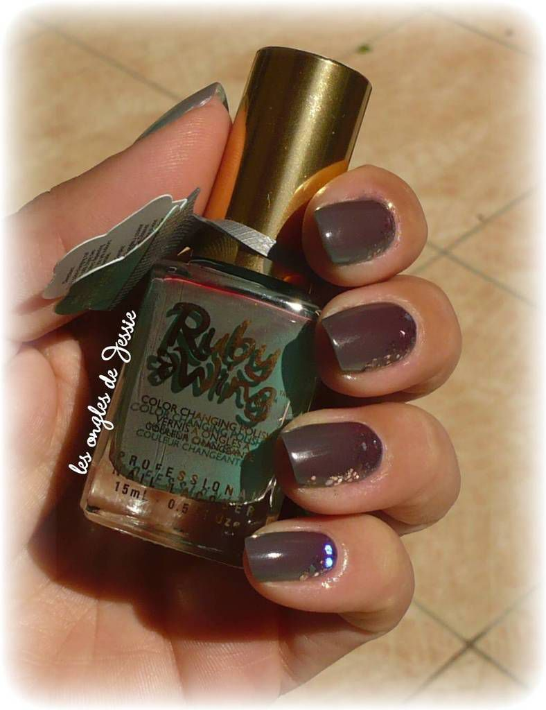 vernis Thermochangeant &quot&#x3B;Ruby Wing&quot&#x3B; Eternal