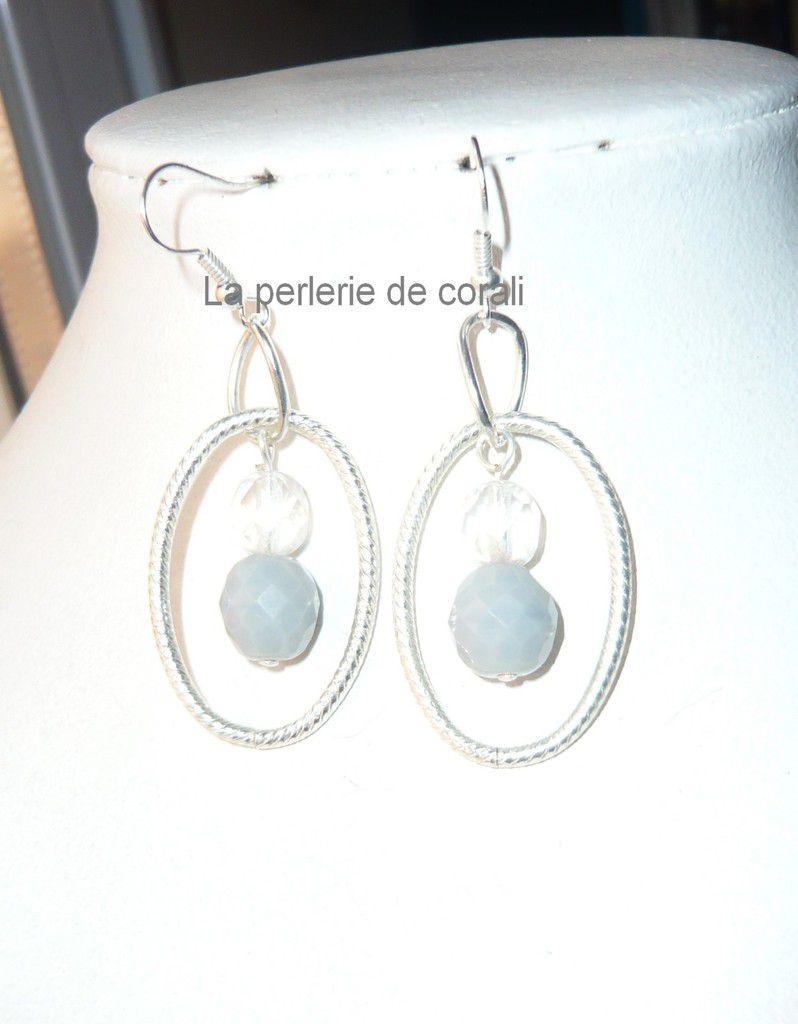 Boucles anneaux/perles