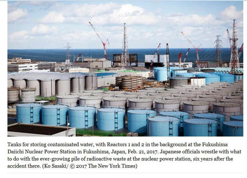 What about all this radioactive waste?