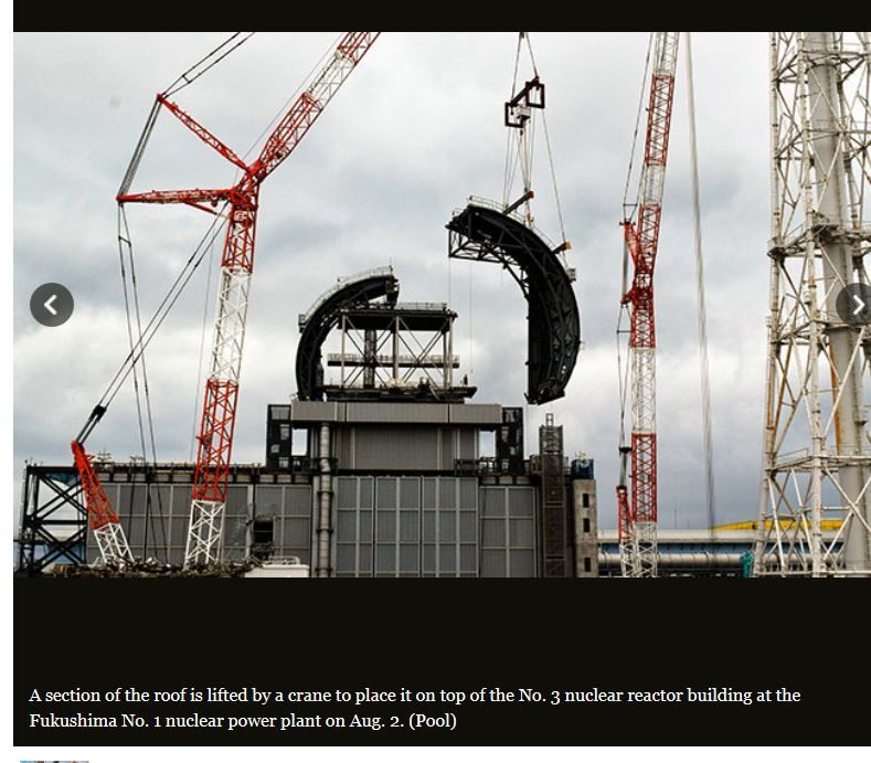 A new roof for reactor No.1