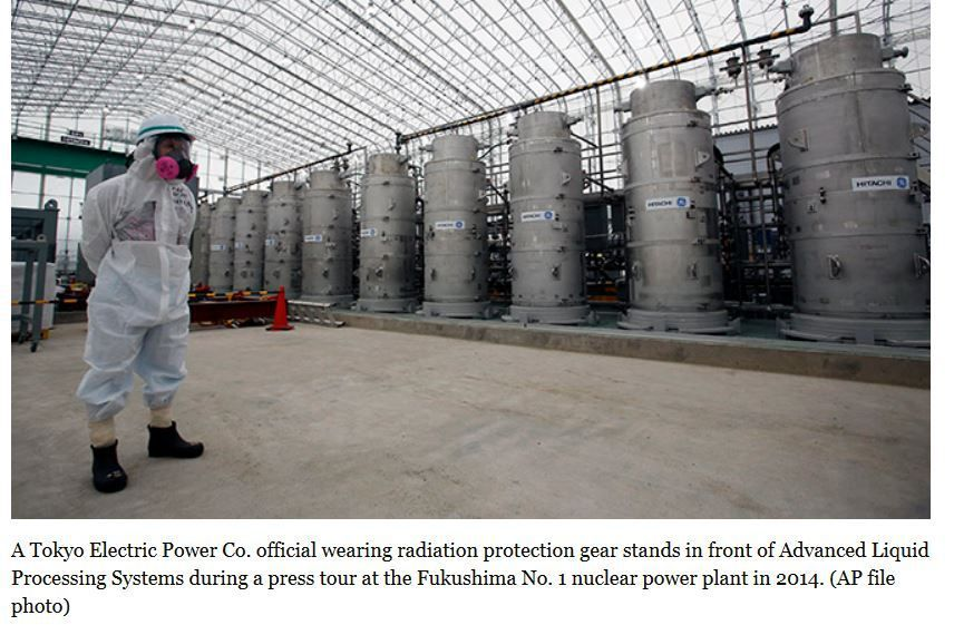 Melted fuel but also contaminated water and radioactive waste still to be faced