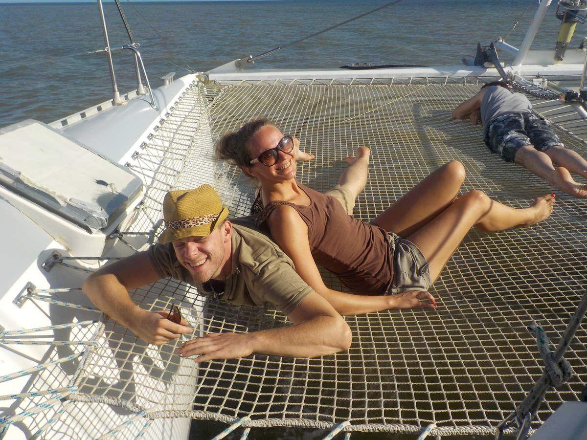 """""""les vacances de l'amour"""" ou Claire crumble en Guyane"""