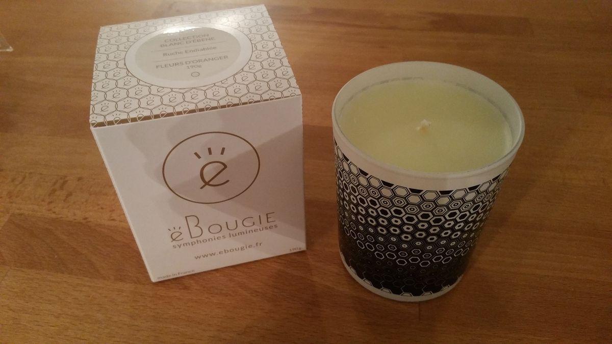 Une bougie parfumée &quot&#x3B;ruche endiablée&quot&#x3B;