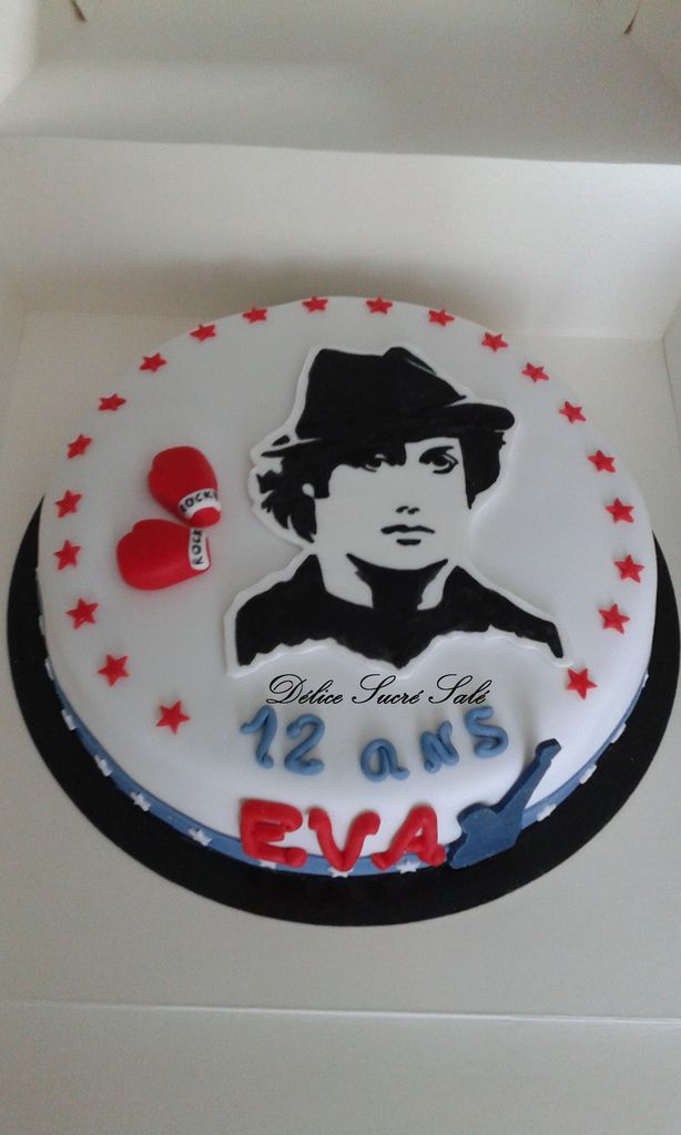 Gâteau Thème Rocky