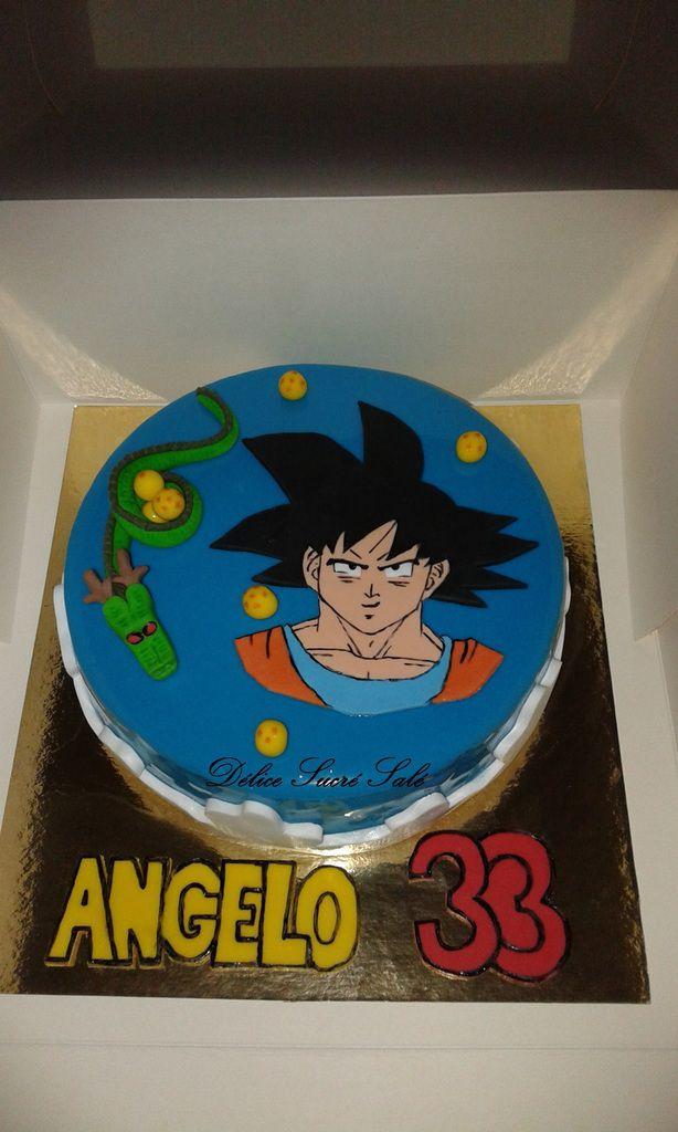 Gâteau Thème Dragon Ball Z