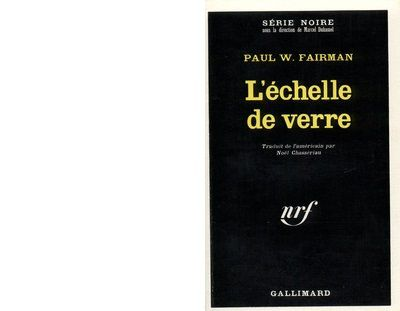 Paul W. FAIRMAN : L'échelle de verre