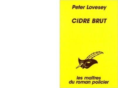 Peter LOVESEY : Cidre brut