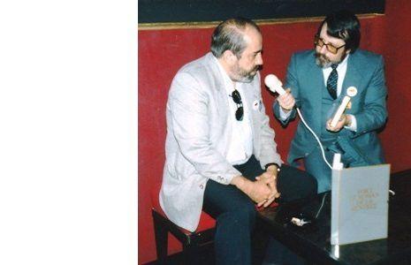 Yves Ellena passé à la moulinette par l'Oncle Paul, octobre 1987, à Grenoble.