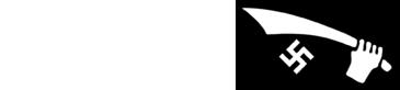 L'emblème de la 13e division Waffen-SS Handschar