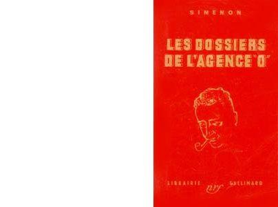 Première édition Gallimard. Les Simenon Policiers. Avril 1943.