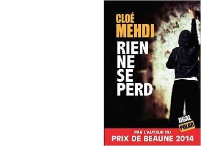 Cloé MEHDI : Rien ne se perd.