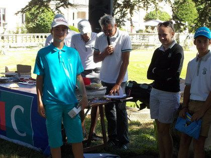 Photos de la compétition de l'Ecole de golf....