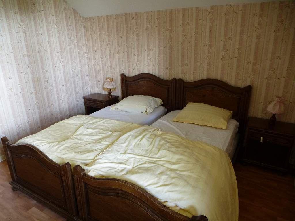 J'aurais préféré un double lit, en vain (deux lits séparés, ici).