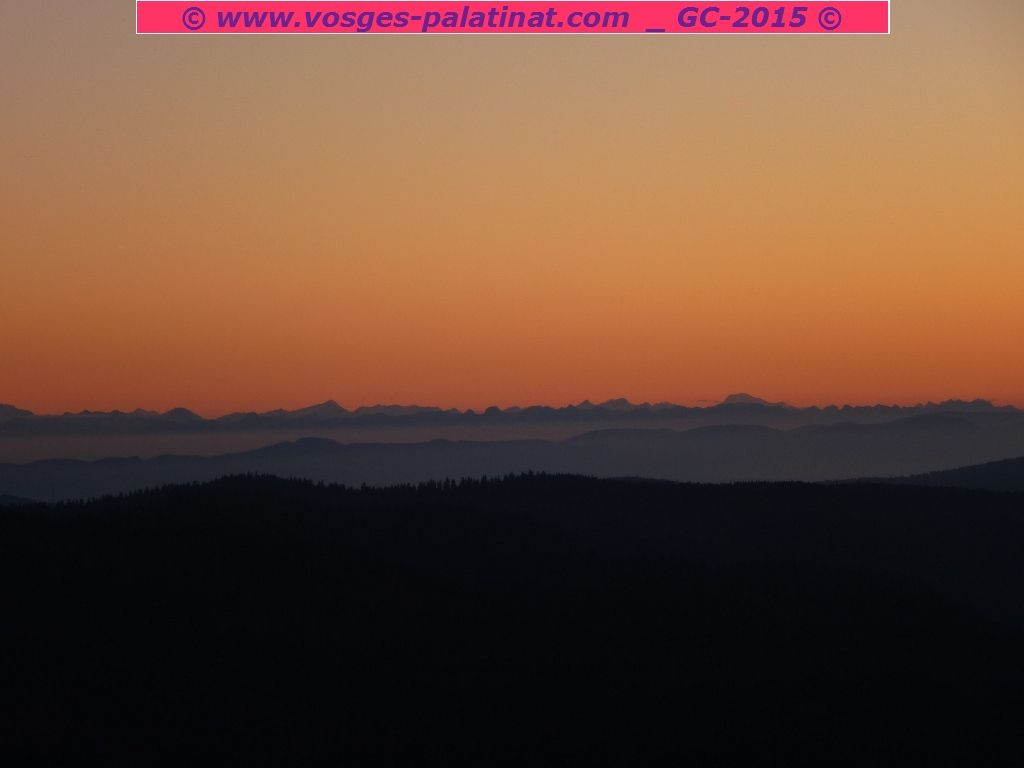 Final panoramique d'anthologie, depuis la Herzogenhorn : j'adore et j'en redemande !