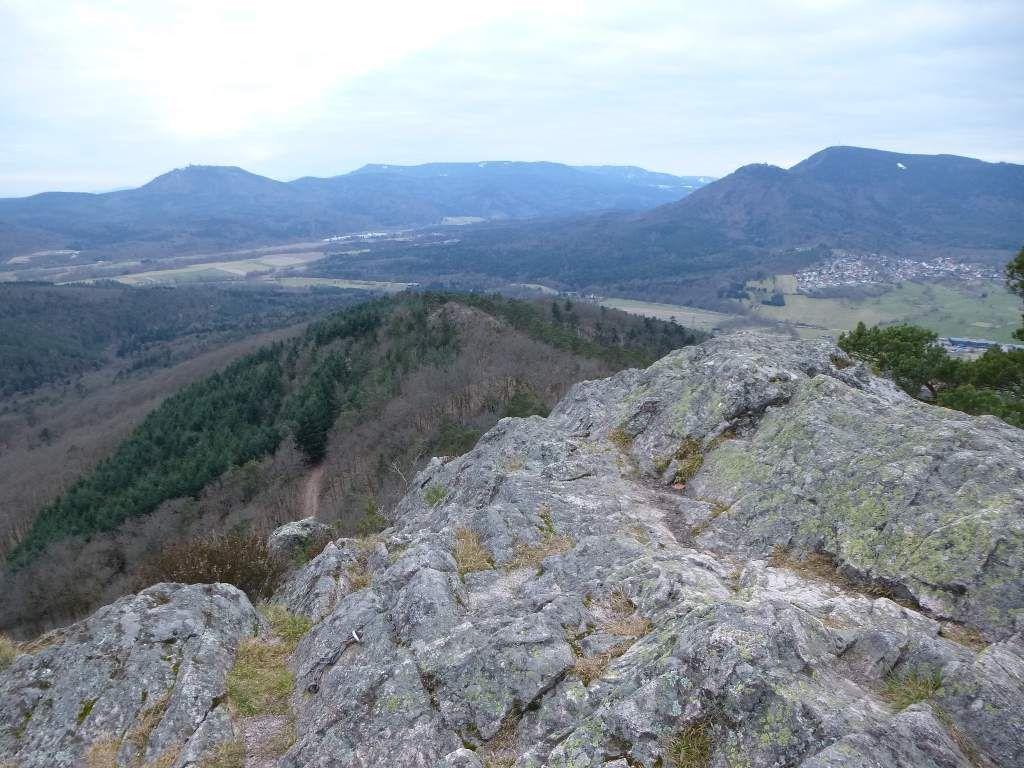 Le sommet du Falkenstein se laisse assez aisément pénétrer &#x3B; et surtout, quel panorama, là-haut !