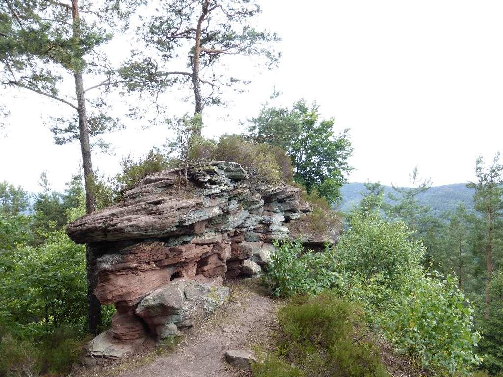 C'est ainsi, que je clôture cette petite visite, du rocher du Häuselstein !