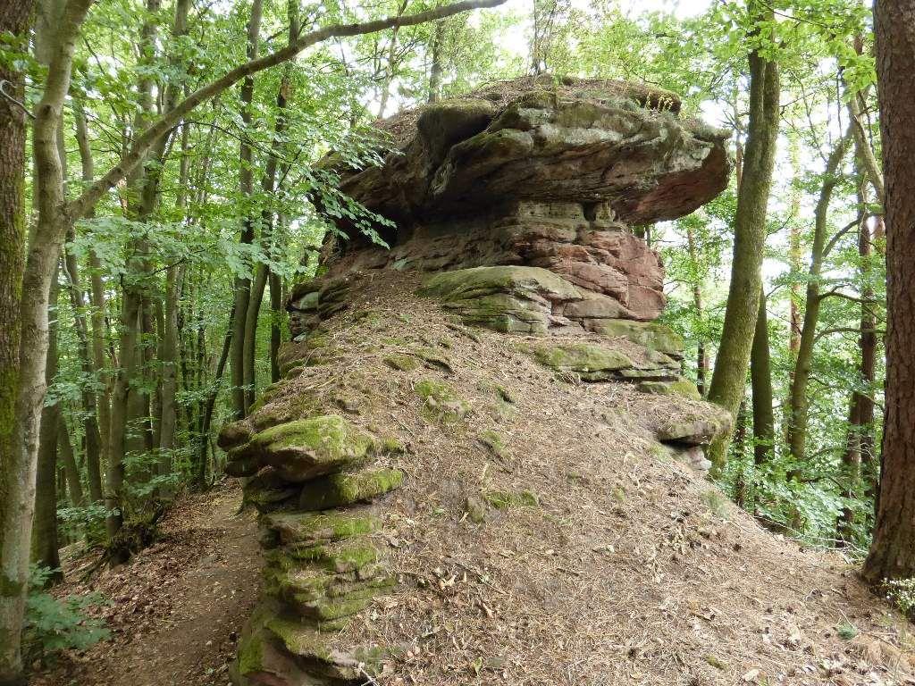 Le sommet du second monolithe, demeure malheureusement inaccessible aux randonneurs pédestres !