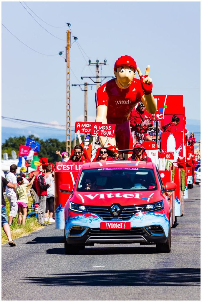 Caravane du tour de France 2016