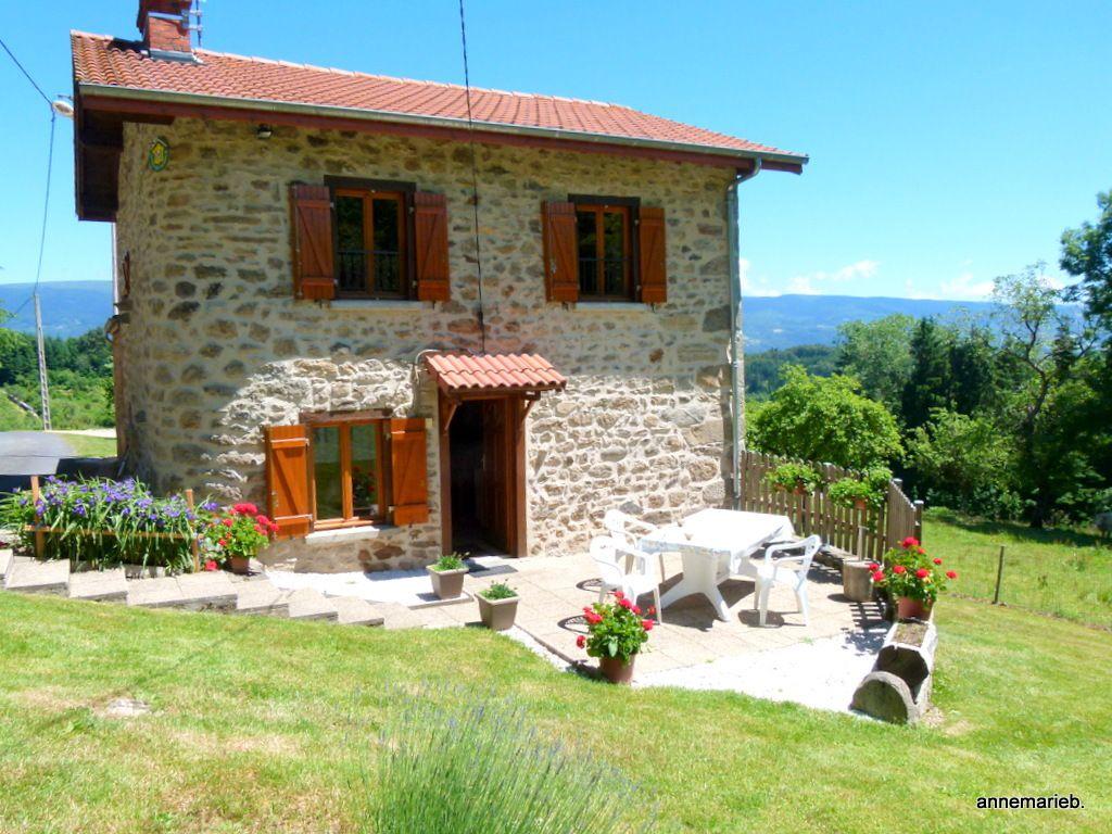 La petite maison dans la montagne pour le séjour...calme, silence, bon air étaient au rendez-vous