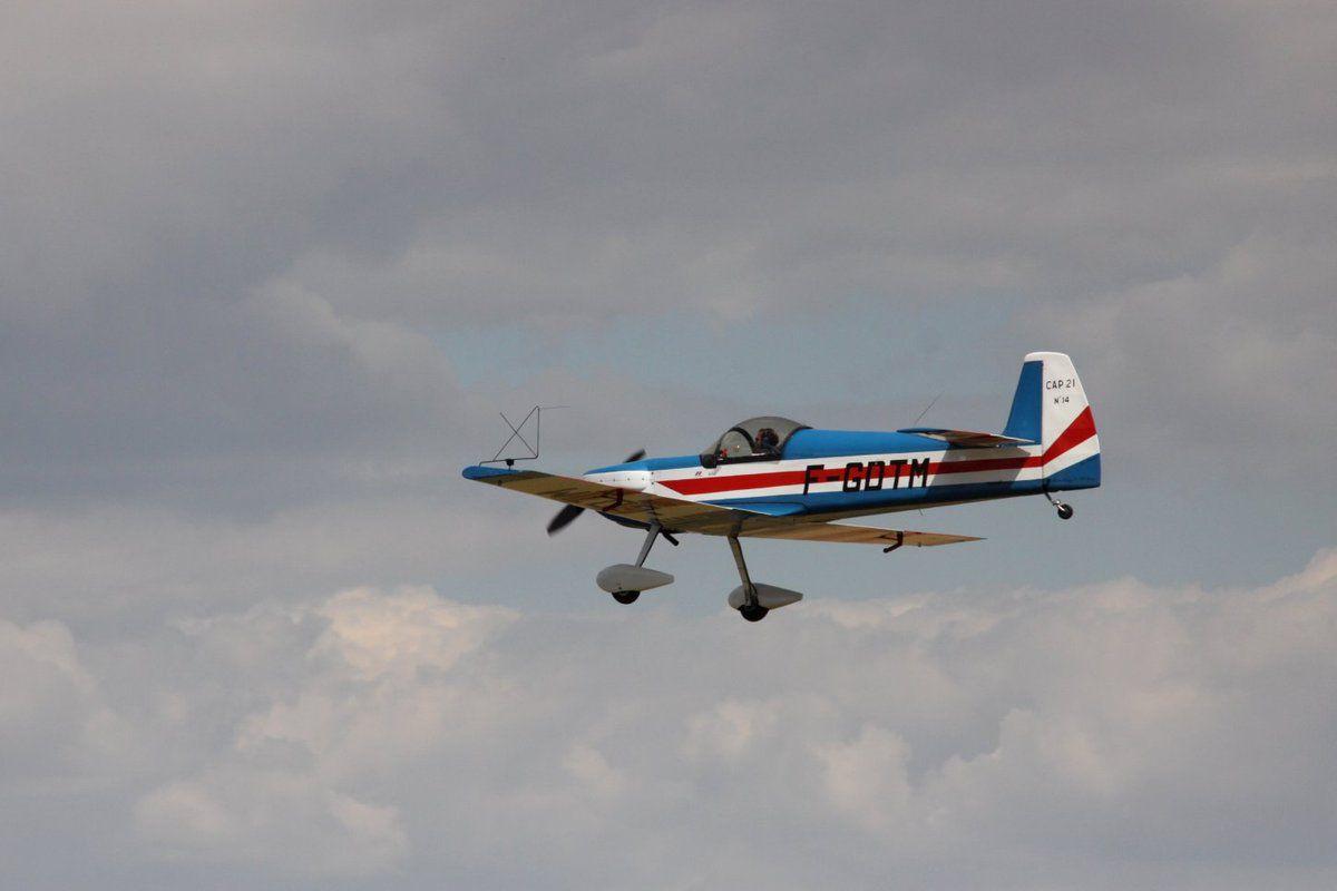 quelques-uns des avions en démonstation