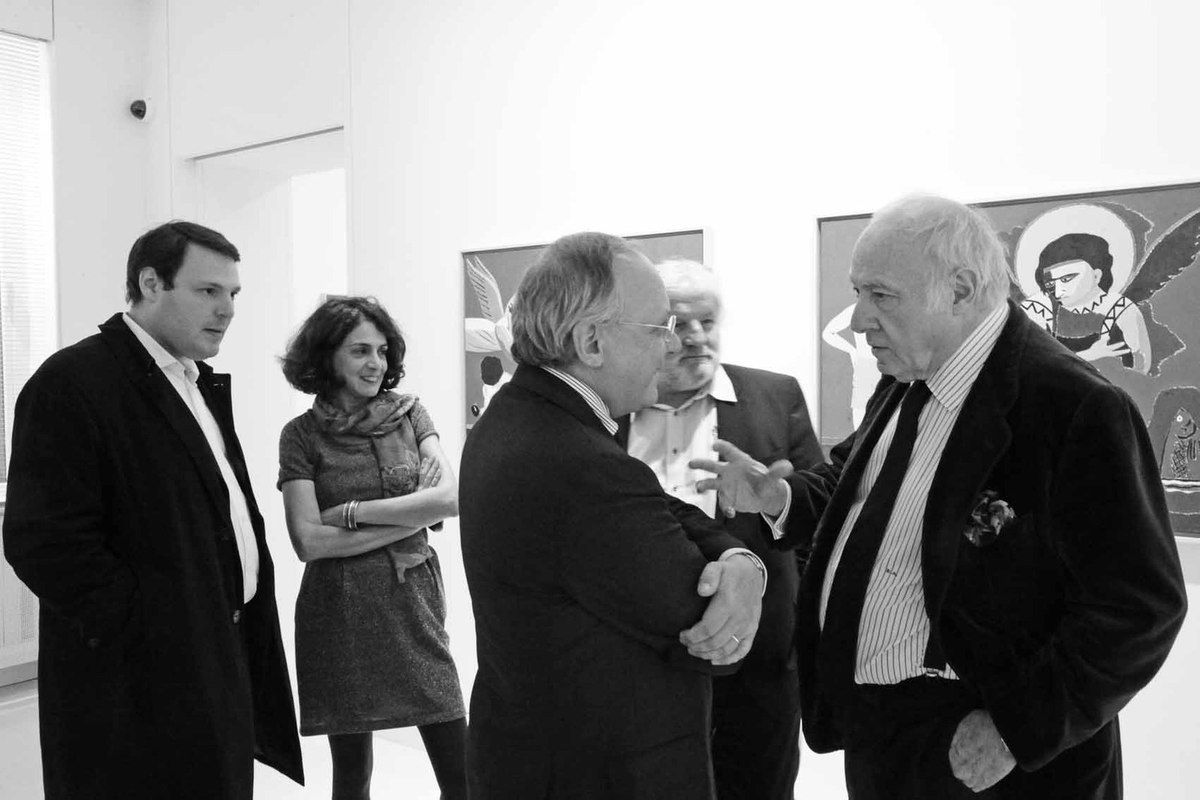 Eduardo Arroyo, Galerie Louis Carré. 2012