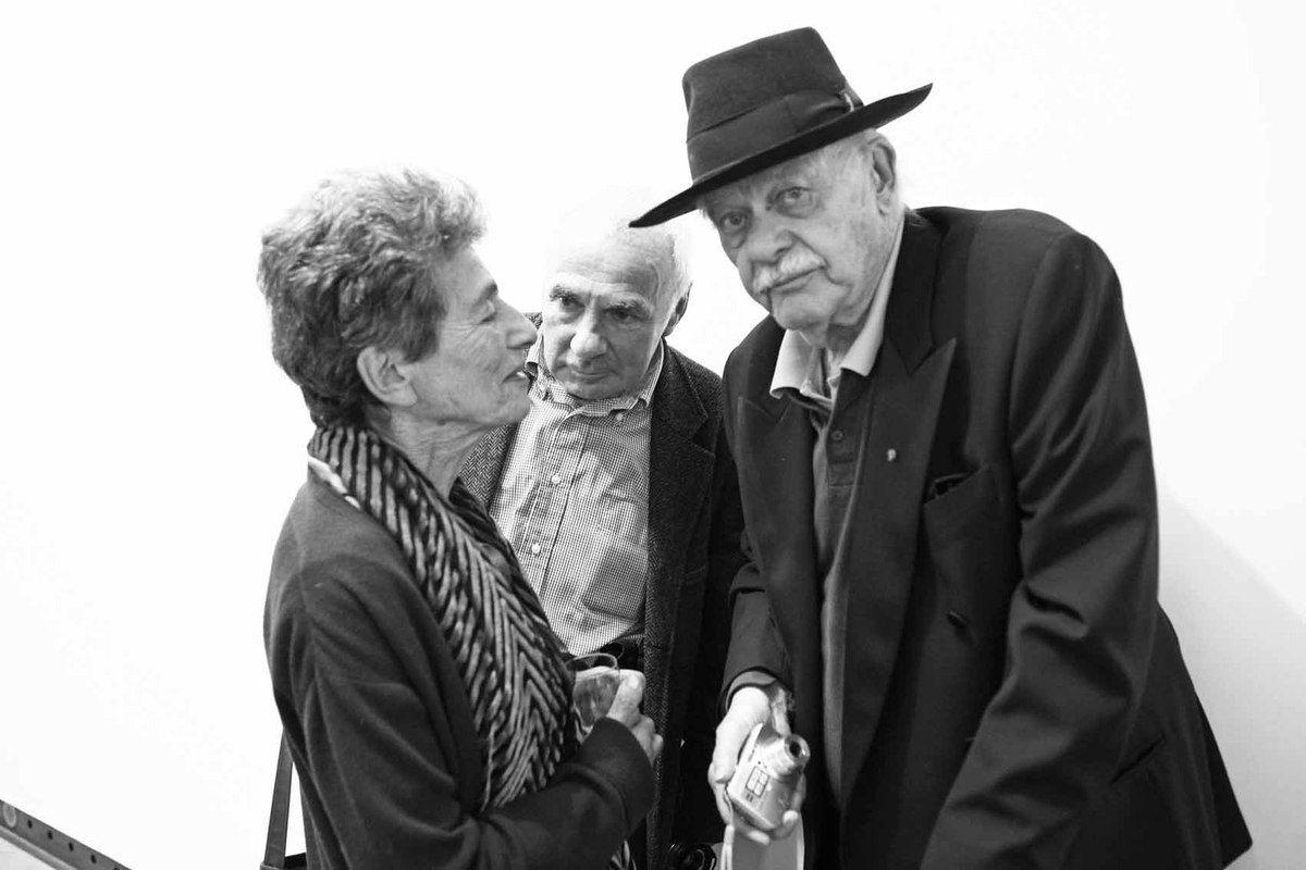 Carla Morain, André Morain, John Chamberlain