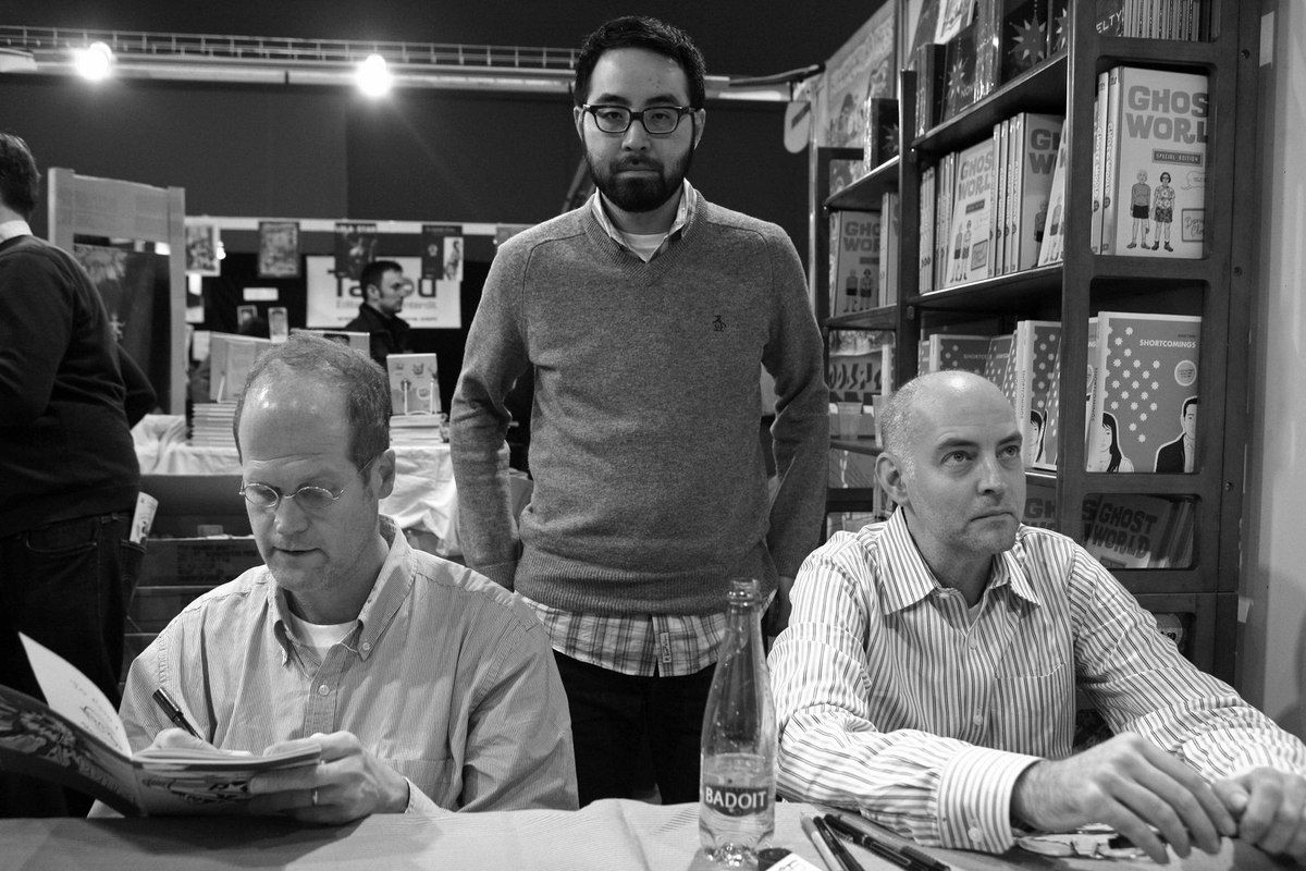 Chris Ware, Adrian Tomine, Daniel Clowes
