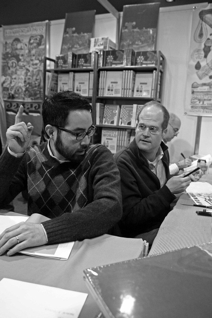 Adrian Tomine, Chris Ware, Daniel Clowes