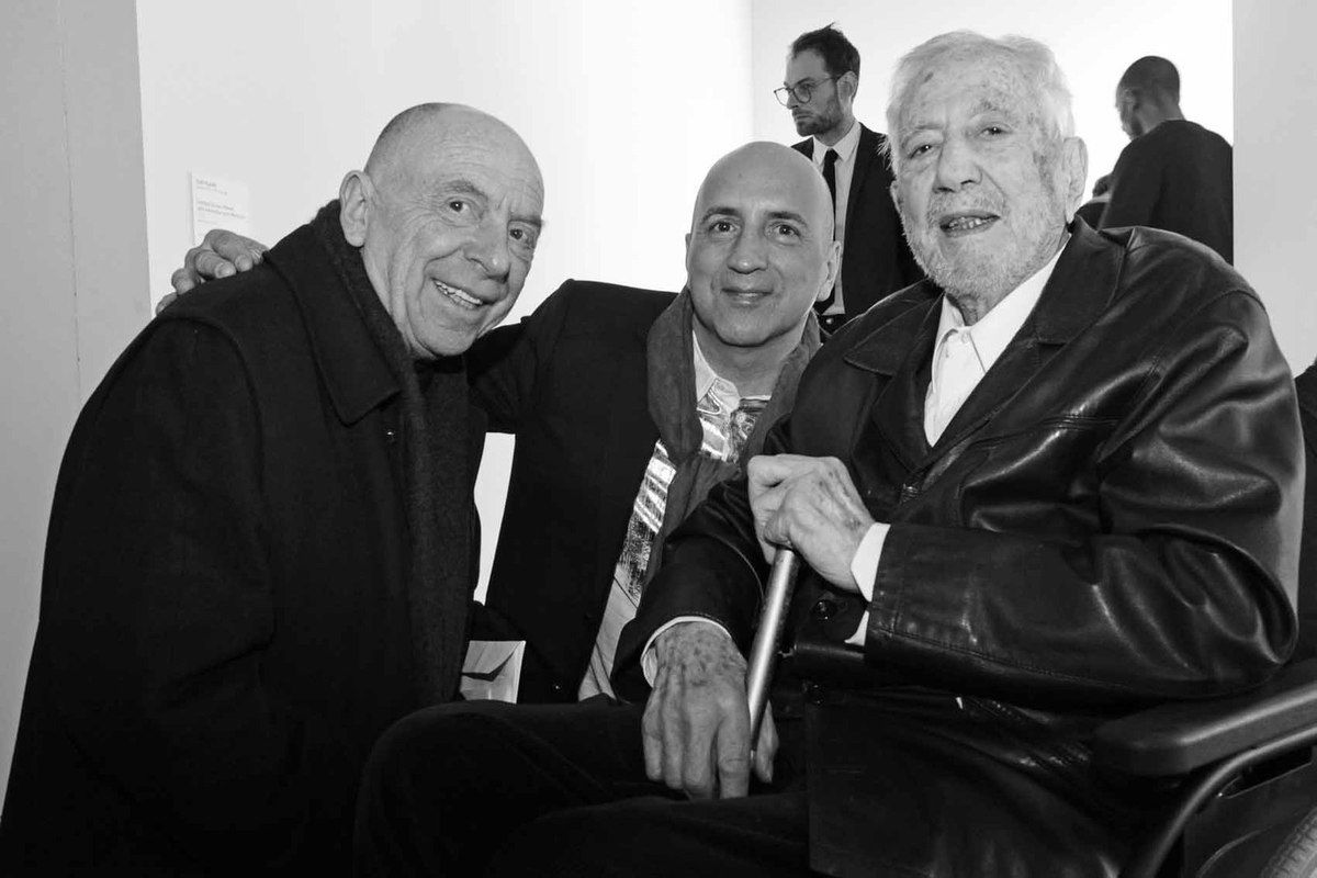 Getulio Alviani, Chus Burés, Luis Tomasello