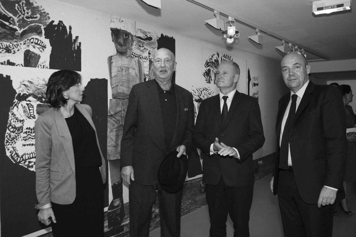 Inconnue, Geörg Baselitz, Christophe Girard, Fabrice Hergott