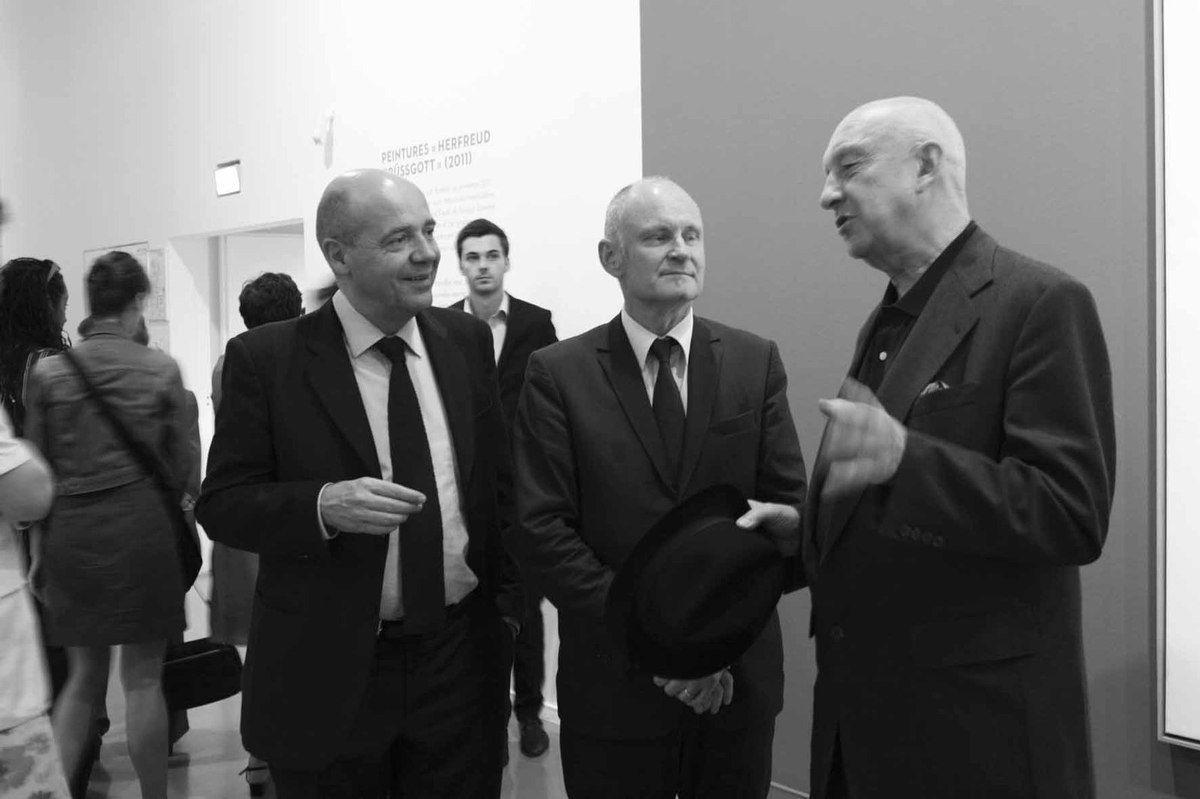 Fabrice Hergott, Christophe Girard, Geörg Baselitz