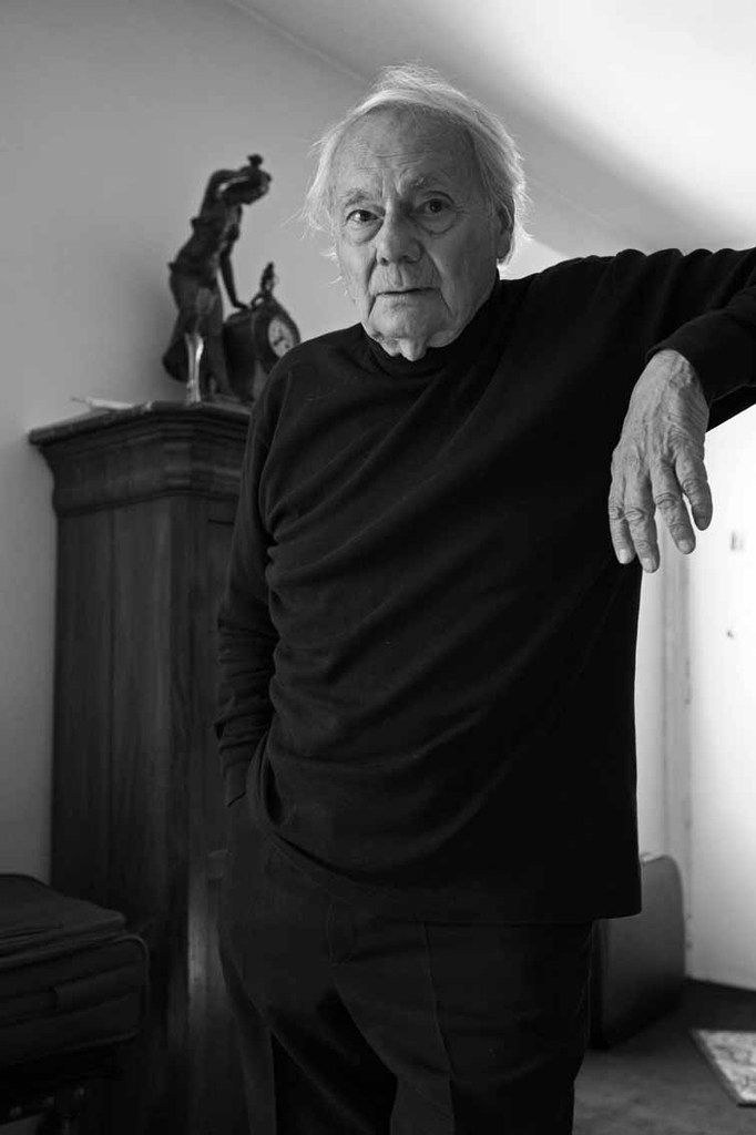 Gianni Bertini (1922-2010) à Paris le 4 septembre 2008