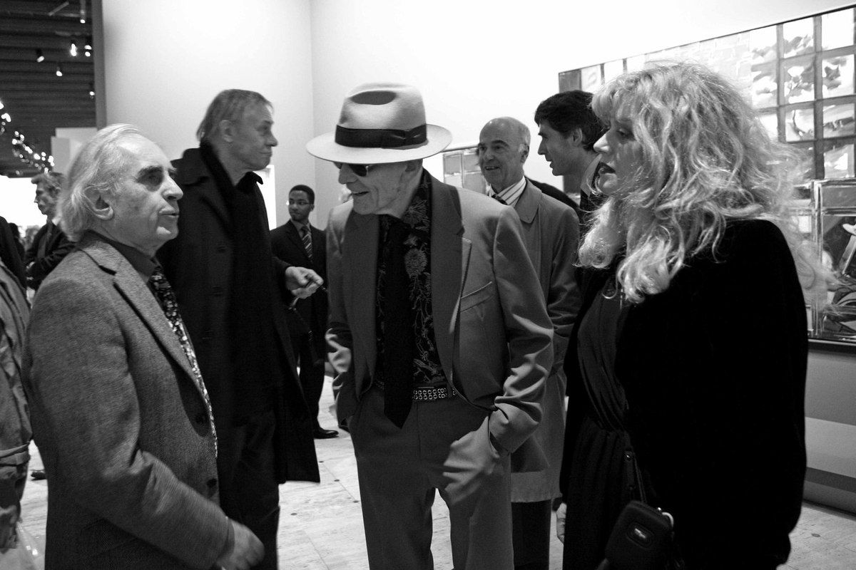 Bernard Rancillac, Yasha David, Jacques Monory, Paule Monory