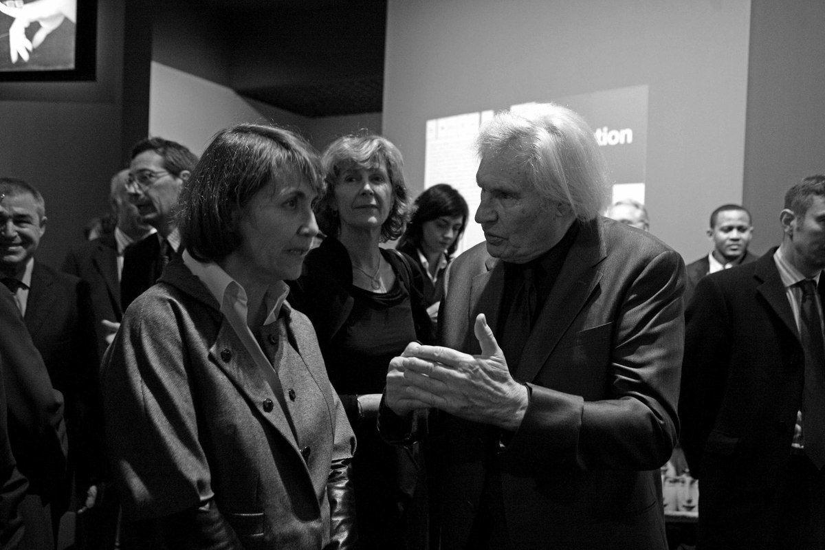 Alfred Pacquement, Christine Albanel, Inconnue, Peter Klasen