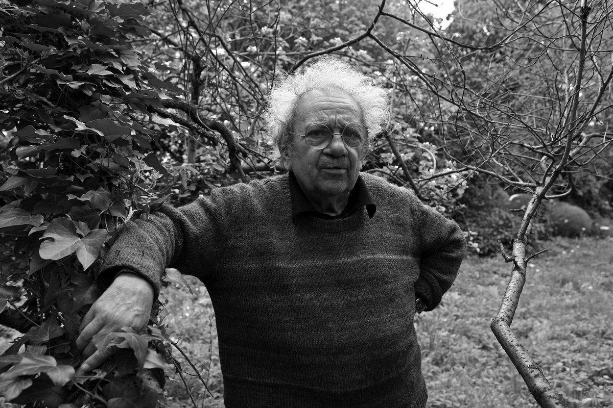 Henri Cueco à Montmagny le 15 avril 2009