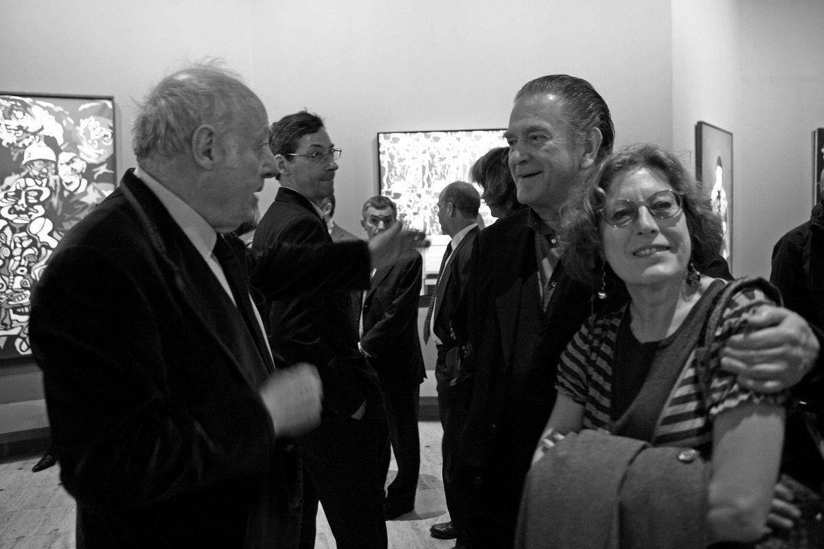 Eduardo Arroyo, Alfred Pacquement,  Erro, Camilla Adami