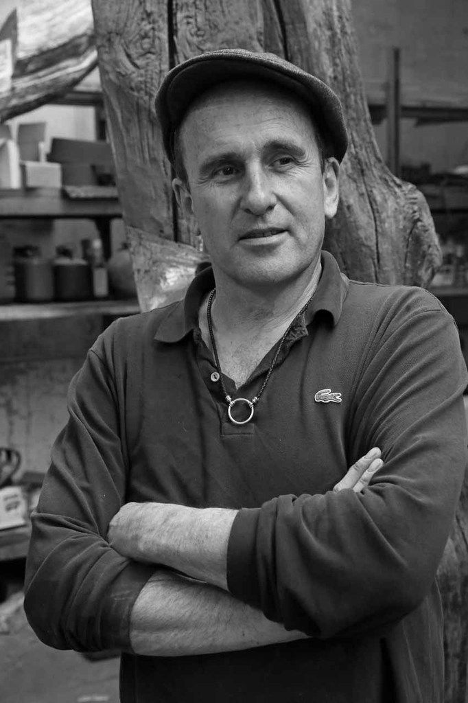 Visite de l'atelier de Nicolas Alquin. Bagneux le 14 novembre 2013