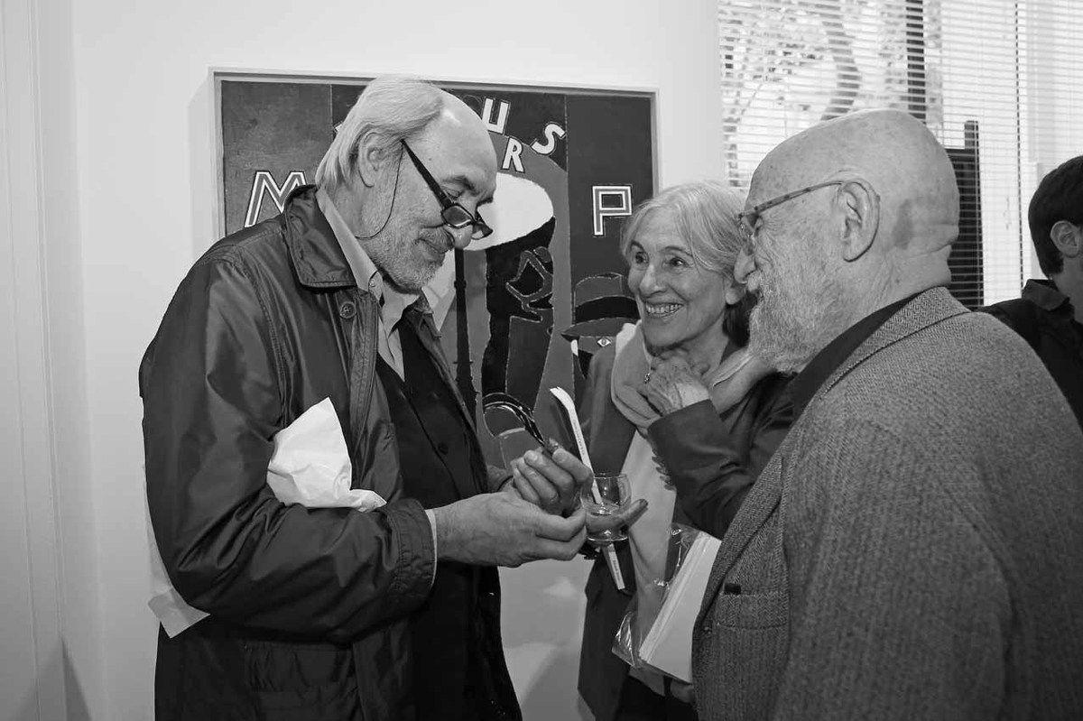 Jean Marchetti, Micky Alechinsky, Pierre Alechinsky
