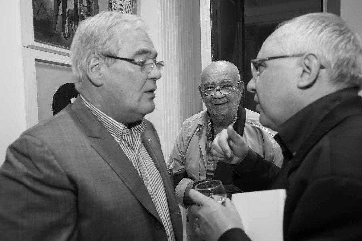 Patrick Bongers, Hervé Télémaque, Henri Griffon