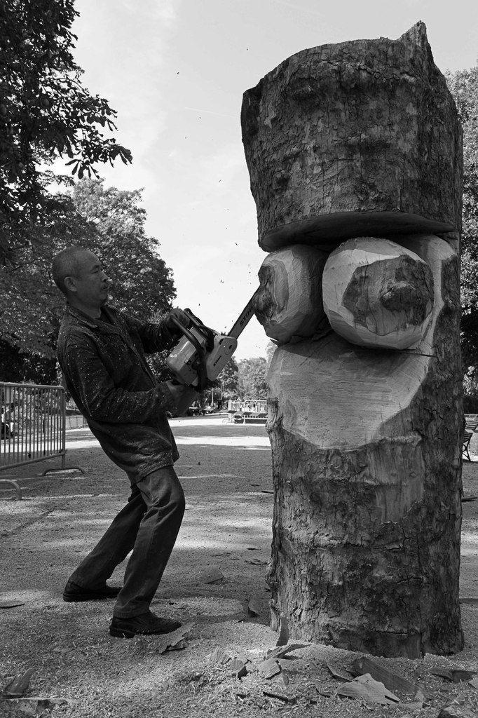 Parc Monceau. Paris le 1er septembre 2011