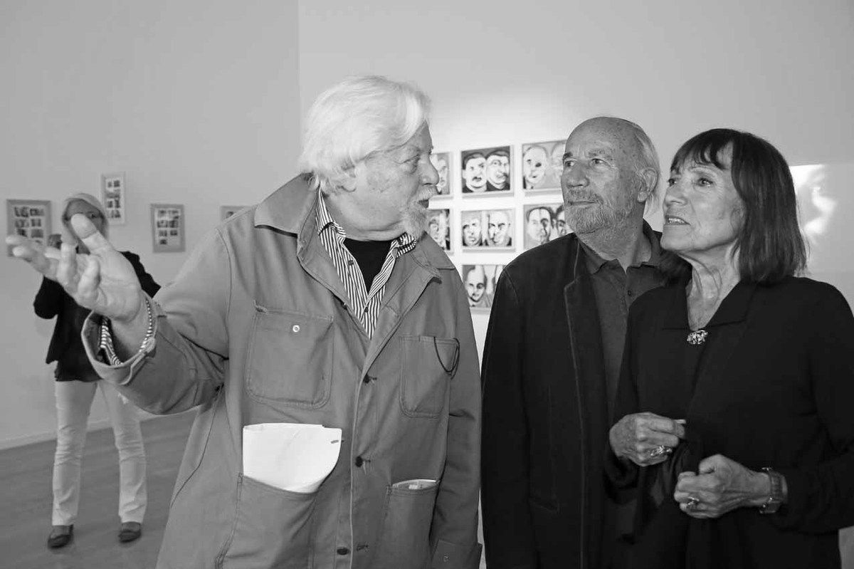 Jean-Jacques Lebel, Philippe Curval, Anne Tronche