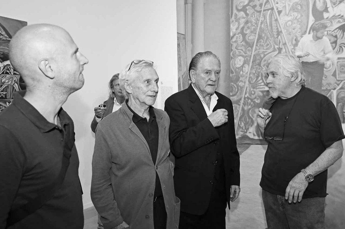 Inconnu, Vladimir Velickovic, Erro, Jean-Jacques Deleval