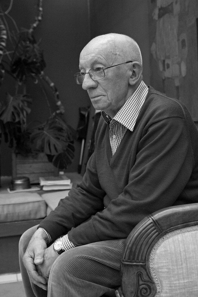 Pierre Courtin (1921-2012). Le Mesnil Le Roi le 16 avril 2009