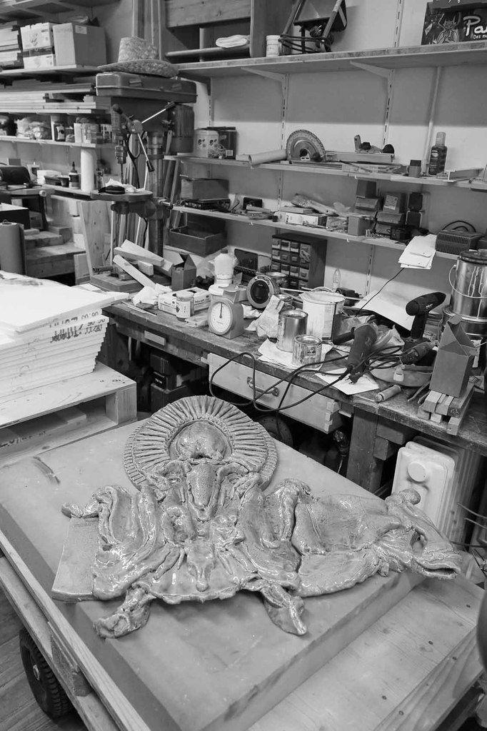 Elmar Trenkwalder. Atelier d'Innsbruck