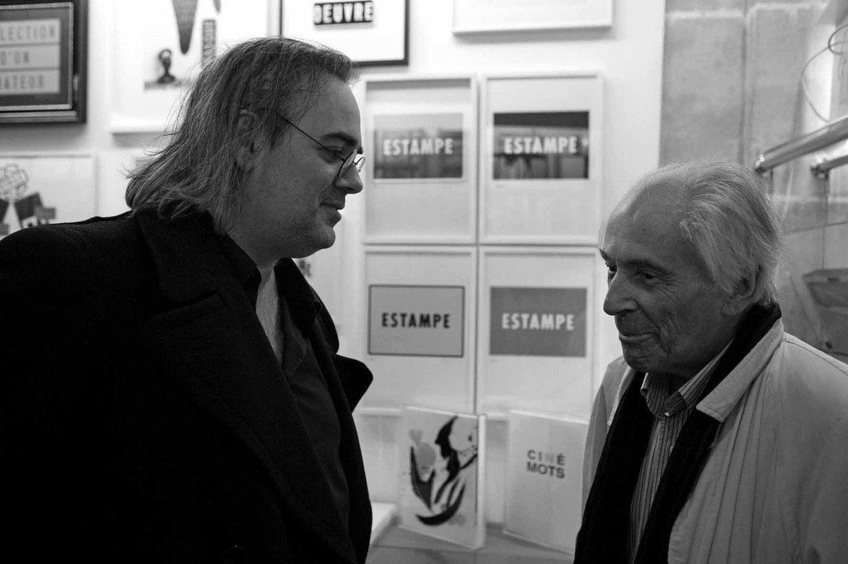 Avec Frédéric Acquaviva. Librairie Mazarine. Paris, le 10 décembre 2009
