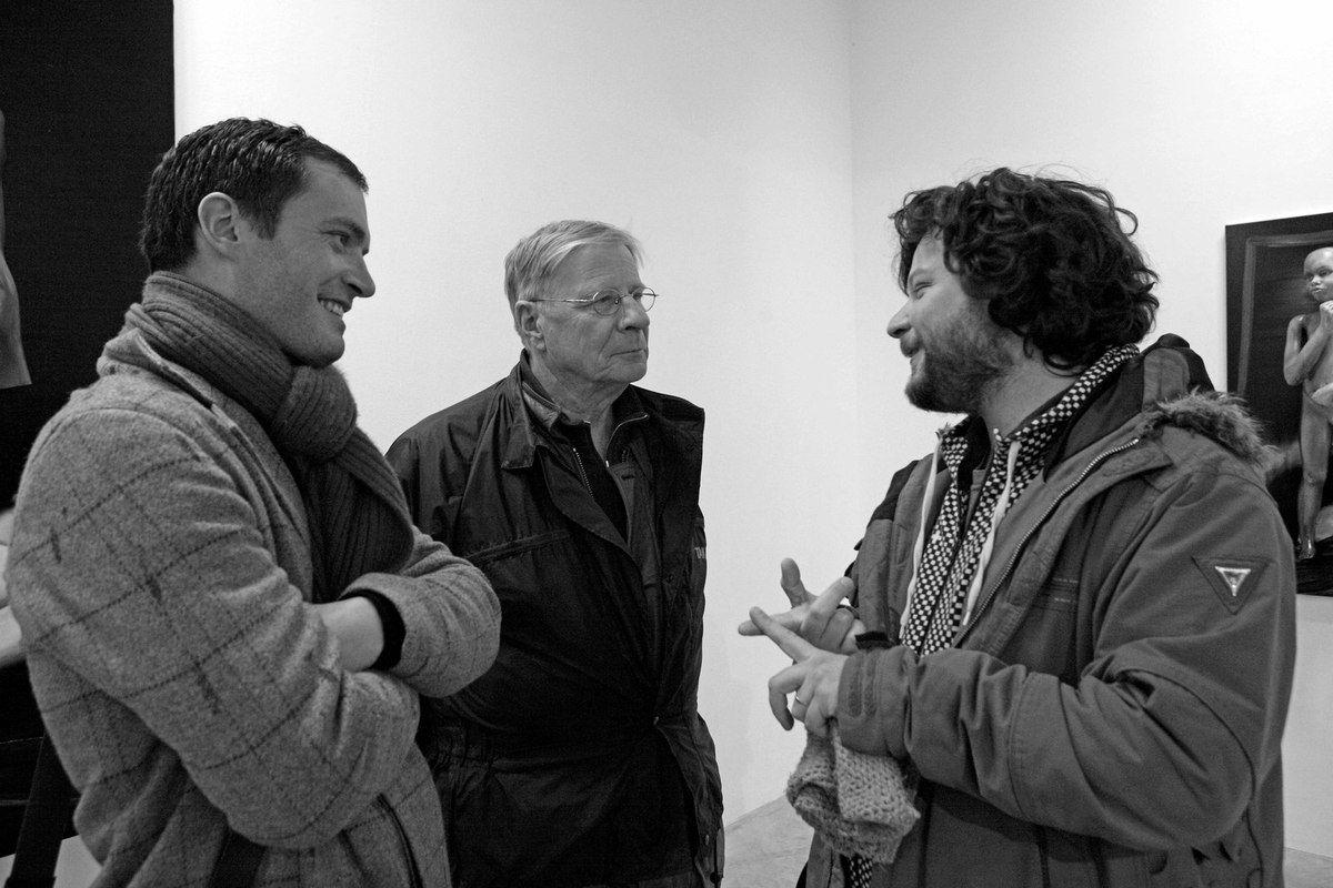 Raynald Driez, Louis Cane, Romain Bernini