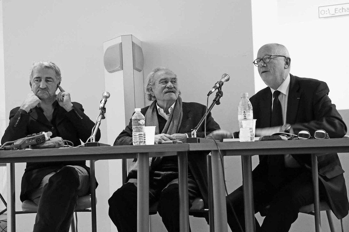 Avec Philippe Roux et Lorand Hegyi