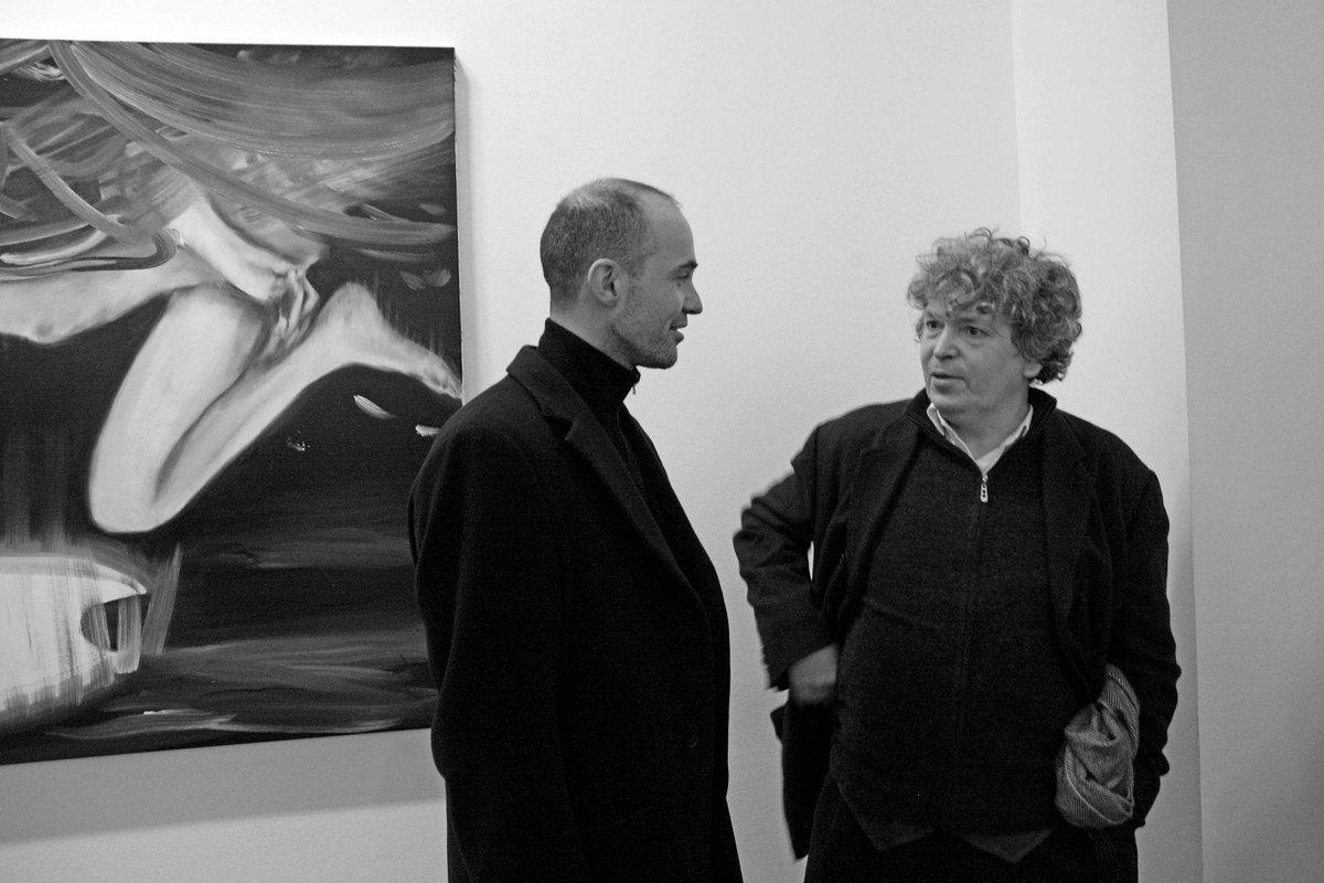 Avec Robert Combas