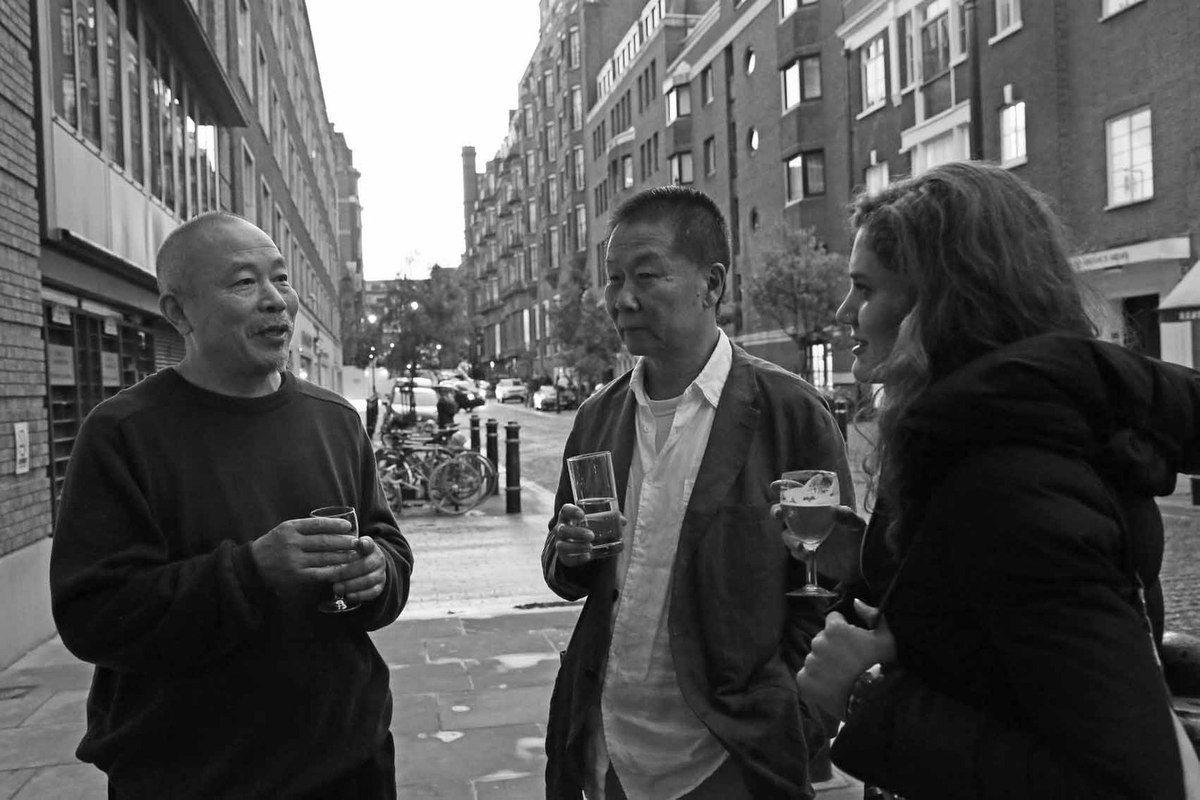 Wang Keping, Qu Lei Lei, Dagmar Carnevale Lavezzoli
