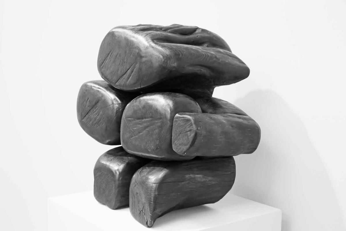 Sculpture de Wang Keping